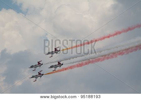 Air Show In The Sky