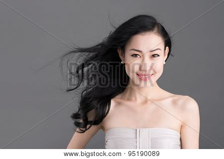 Mongolian young lady