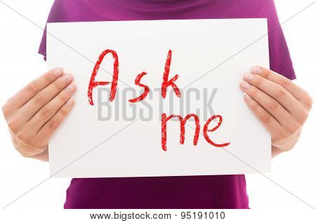 Ask Me!