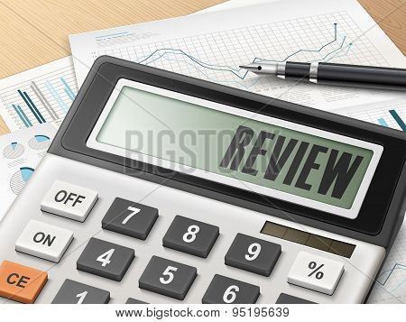 Calculator With The Word Review