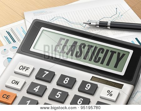 Calculator With The Word Elasticity