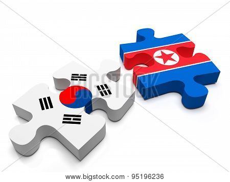 North Korea - South Korea
