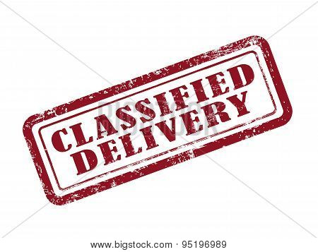 Stamp Classified Delivery
