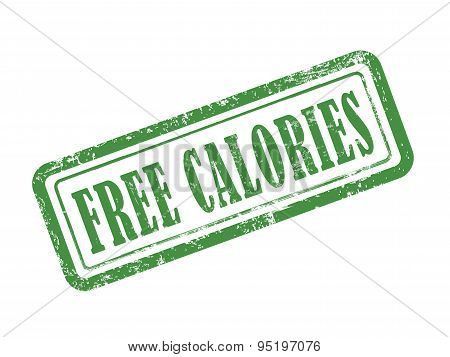 Stamp Free Calories In Green