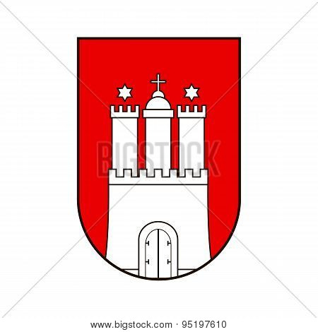 Hamburg Coat Of Arms.