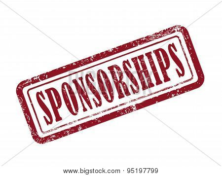 Stamp Sponsorships In Red