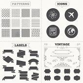 pic of qr codes  - Seamless patterns - JPG