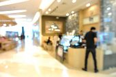 foto of department store  - Blur of Defocus Background of People in Shopping Mall or Department store - JPG