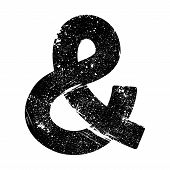 picture of ampersand  - A vector icon of an ampersand symbol - JPG