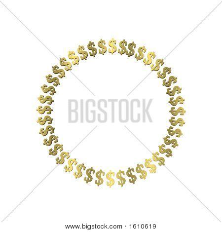Dollar Sign Circle1