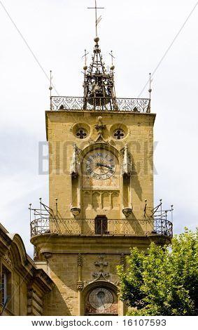 town hall, Aix-en-Provence, Provence, France