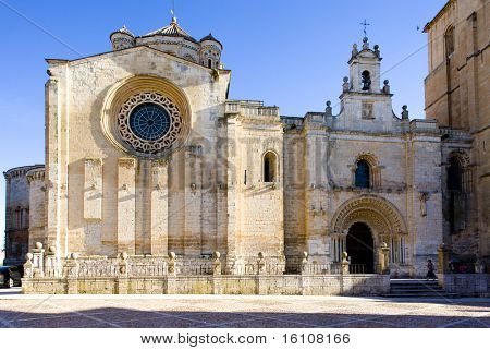 church of Colegiata de Santa Maria, Toro, Zamora Province, Castile and Leon, Spain
