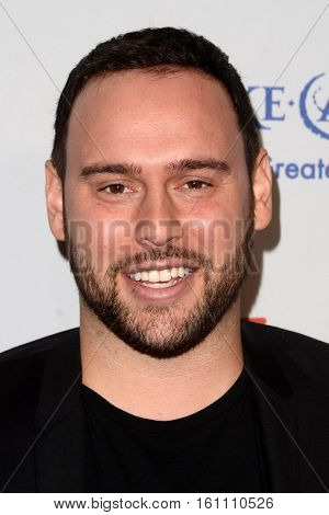 LOS ANGELES - DEC 7:  Scooter Braun at the  at the  at Hollywood Palladium on December 7, 2016 in Los Angeles, CA