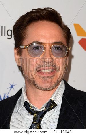 LOS ANGELES - DEC 7:  Robert Downey Jr at the  at the  at Hollywood Palladium on December 7, 2016 in Los Angeles, CA