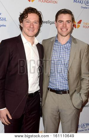 LOS ANGELES - DEC 7:  Tanner Pearson, Tyler Toffoli at the  at the  at Hollywood Palladium on December 7, 2016 in Los Angeles, CA