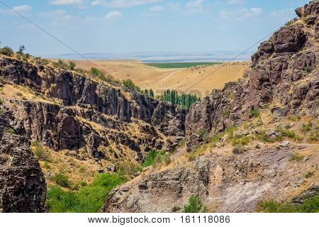 Turbat Canyon, Kazakhstan