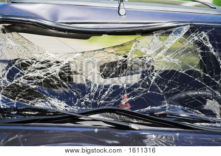 Broken Car Glass