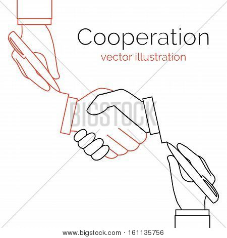 Cooperation Concept Partnership