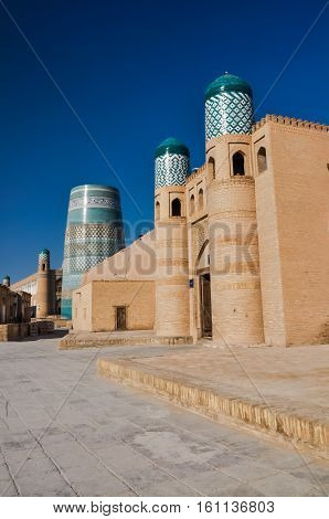 Typical Buildings In Khiva