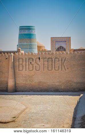 Fortress Wall In Khiva