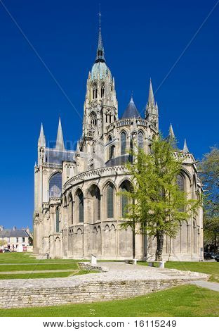 Cathedral Notre Dame, Bayeux, Normandy, France