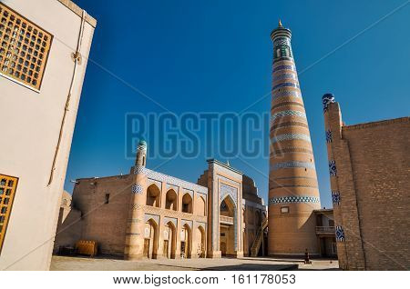 Large Tower In Khiva