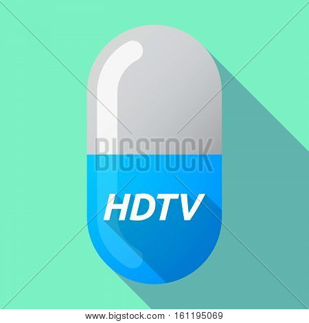 Long Shadow Medical Pill With    The Text Hdtv