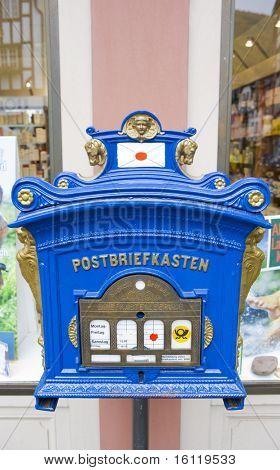 letter box, Bernkastel, Rheinland Pfalz, Germany