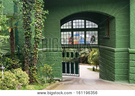 Sochi, Russia - 7 May, Out with Stalin's dacha, 7 May, 2016. Stalin's dacha in the sanatorium Green Grove.