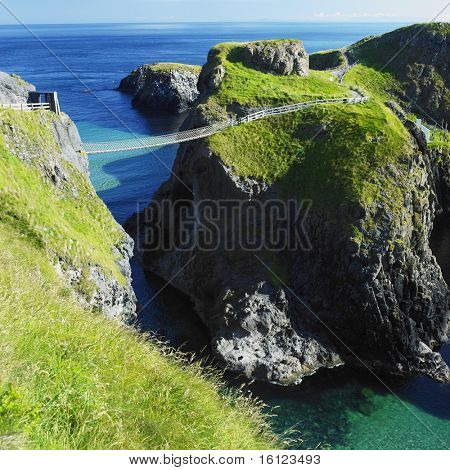Carrick-a-Rede Rope Bridge, County Antrim, Nordirland