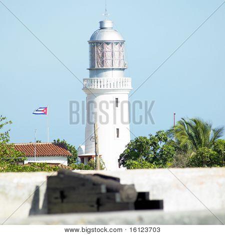 lighthouse, San Pedro de la Roca Castle, Santiago de Cuba Province, Cuba