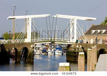 drawbridge, Zierikzee, Zeeland, Netherlands