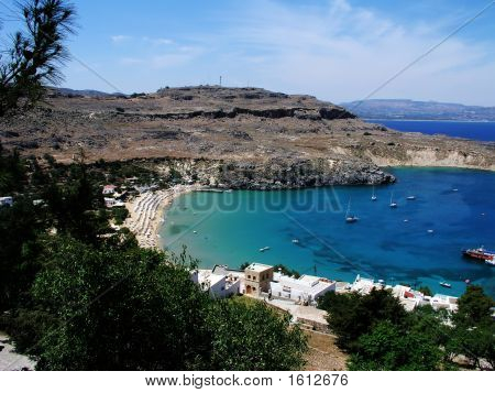 Lindos Beach Greece