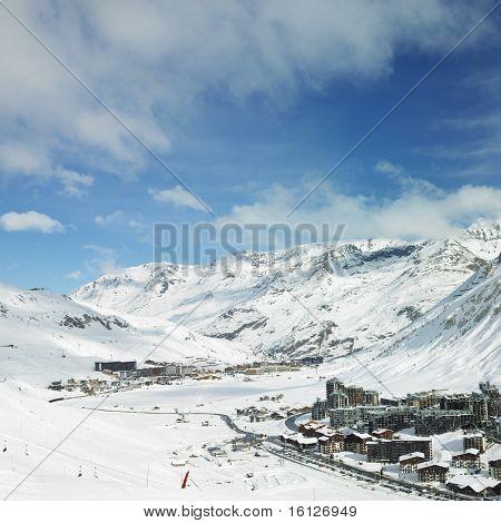 Val Claret, Tignes, Alps Mountains, Savoie, France