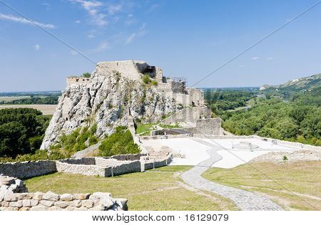 ruins of Devin Castle, Slovakia
