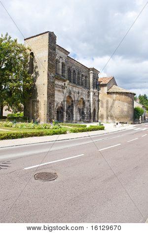 Porte Saint Andre, Autun, Burgundy, France