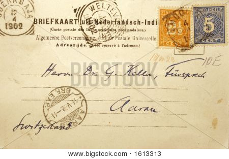 Alte Postkarte 1902