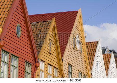 Wooden Rooftops