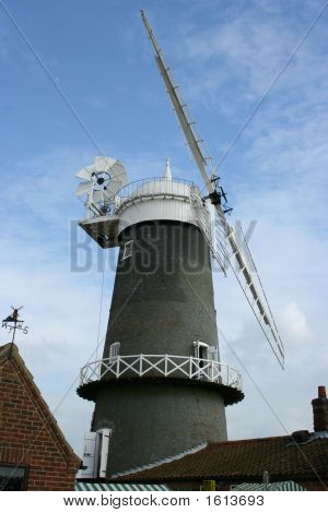 Bircham Windmill, Norfolk,Uk