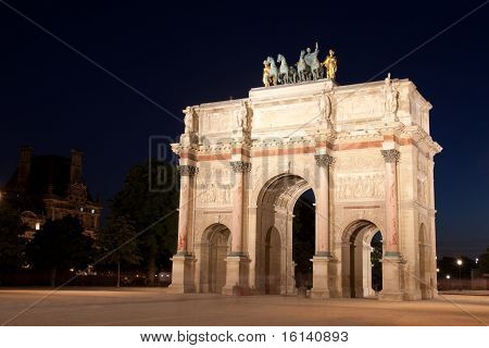 Arc de triomphe of the Carrousel