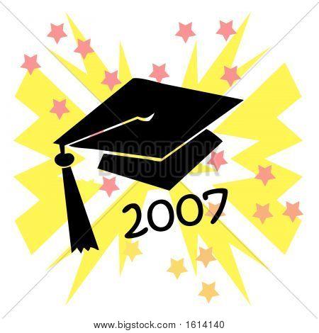 Grad Hat Burst 2007