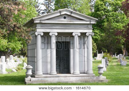 Private Tomb In Cemetery
