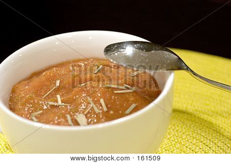 Mango And Tomato Gazpacho