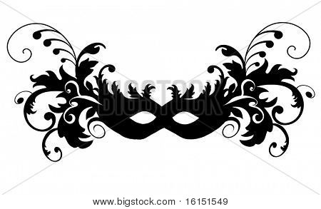 Masks for a masquerade. Party mask.