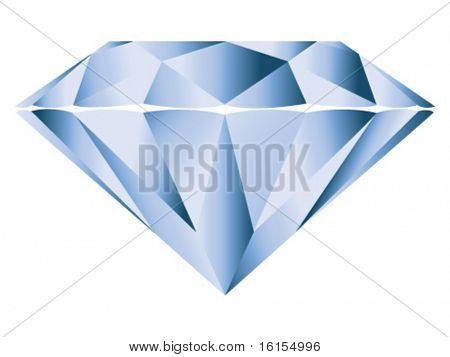 Diamond - vector illustration