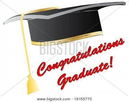 Graduation cap concept