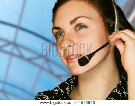 Operador de serviço ao cliente