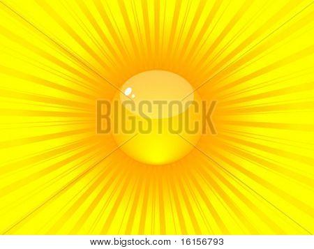 Shiny sun