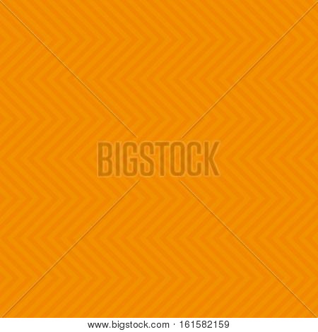 Chevron Pattern. Orange Neutral Seamless Pattern for Modern Design in Flat Style. Tileable Geometric Vector Background.