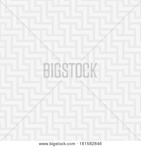 White Neutral Seamless Pattern for Modern Design in Flat Style. Tileable Geometric Vector Background.